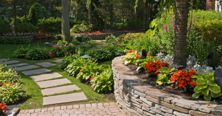A Retaining Wall can Boost Curb Appeal
